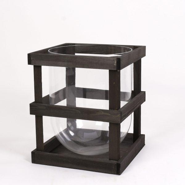 Crate – ljuslykta med ställ